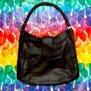 Black Shoulder Bag by Colab